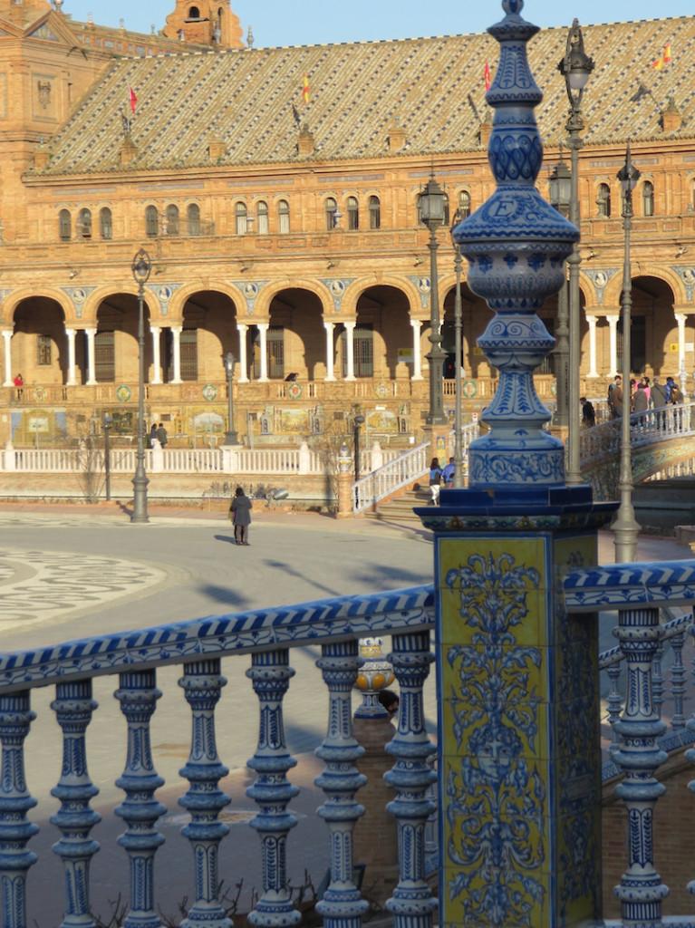 The Plaza de Espana Seville Spain