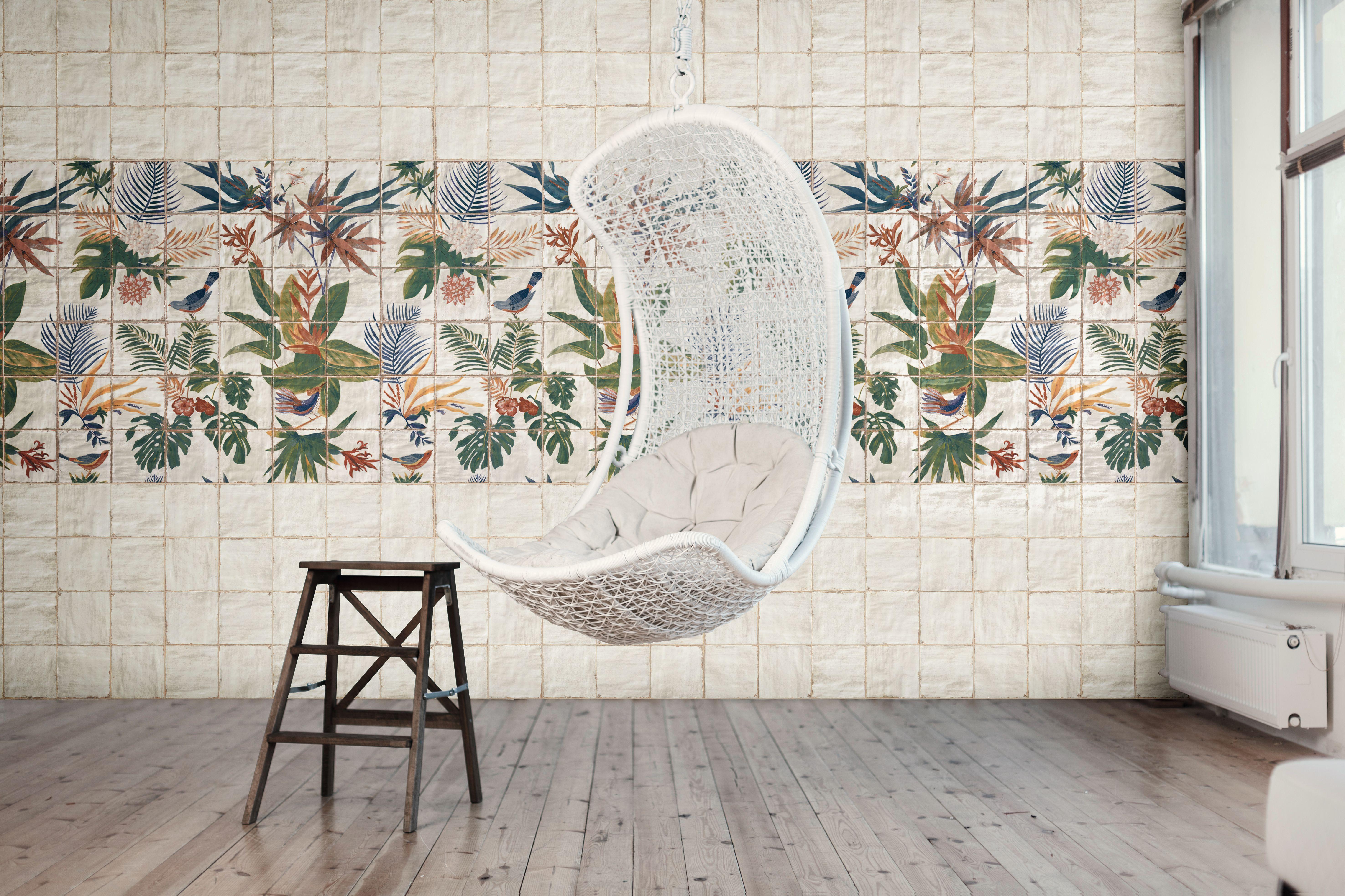 Livorno Blanco y Mural Sonata by Mainzu