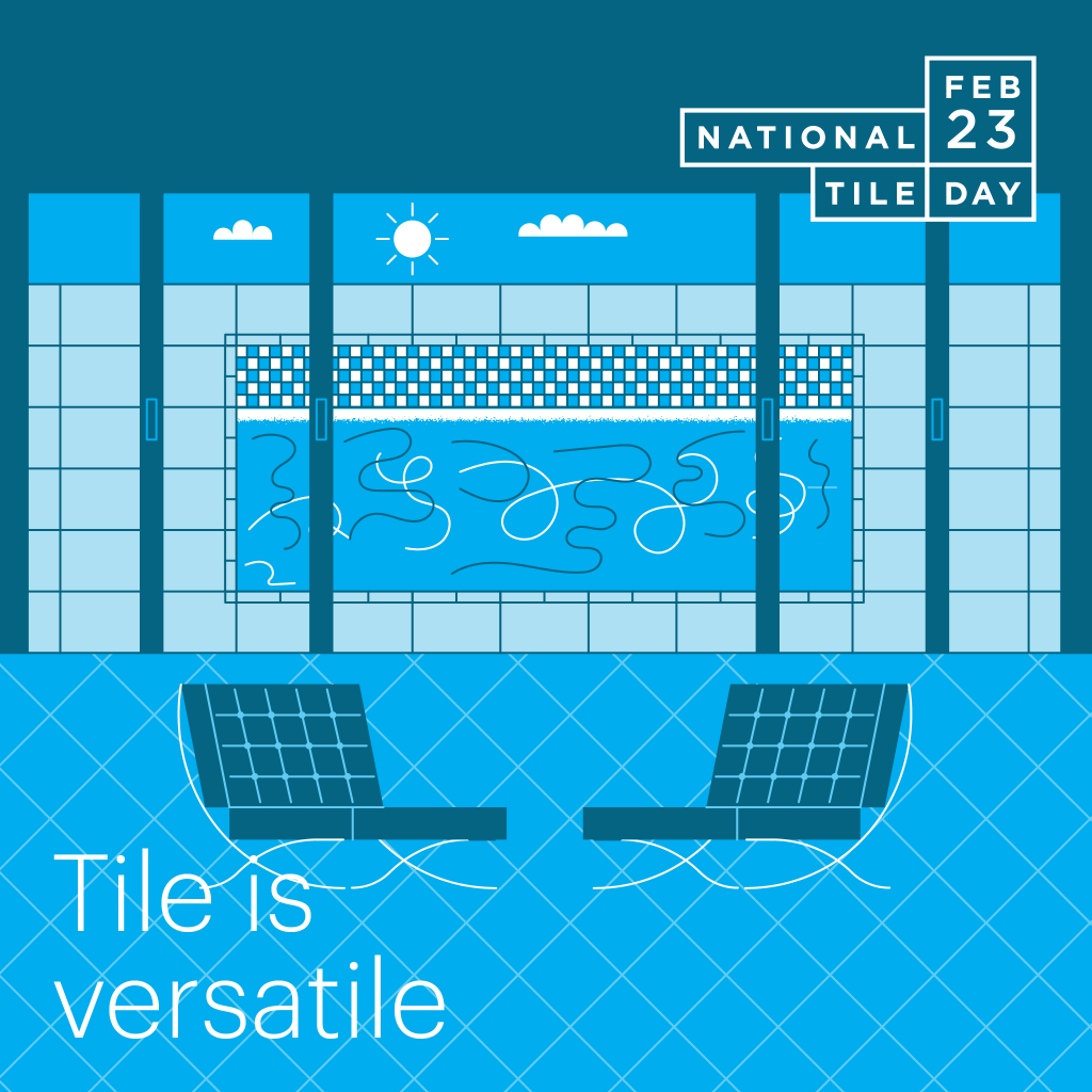 Why Tile? It is versatile.
