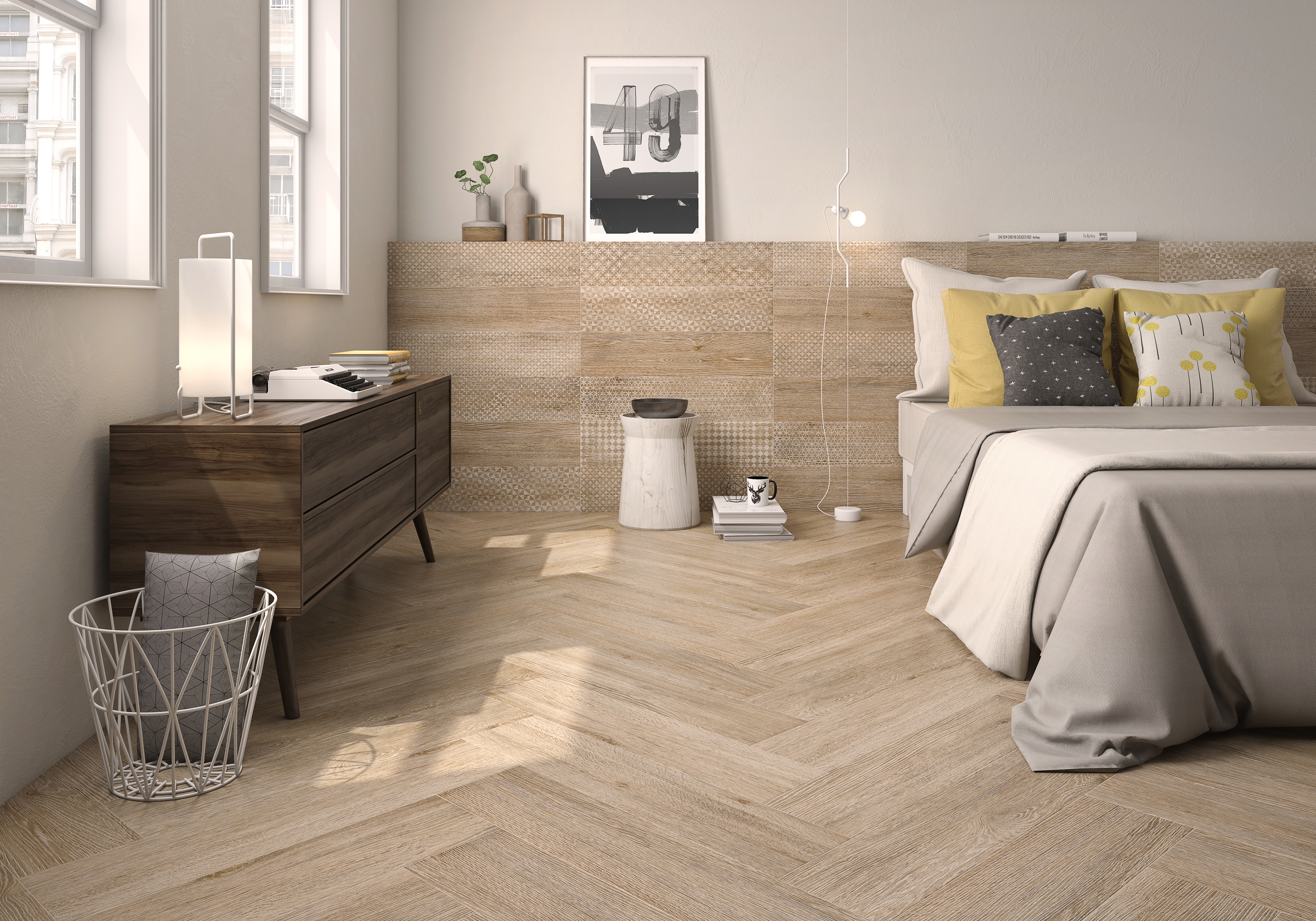 Flamant Collection by Roca Tile